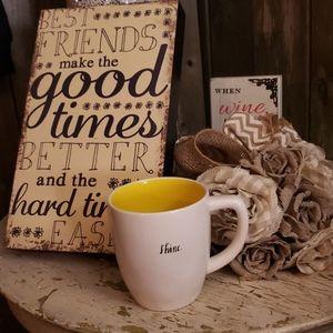 RAE DUNN -SHINE- Coffee Mug